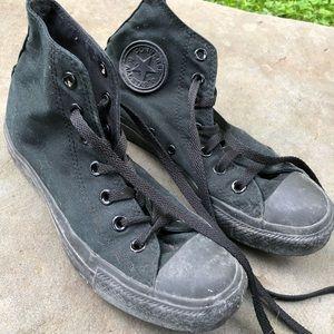 Classic Black High top Converse